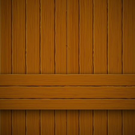 Wooden texture. Vector illustration  Vector