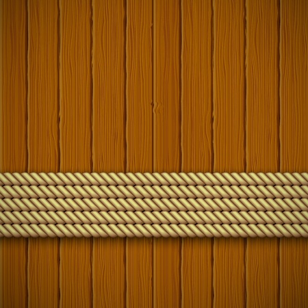 panelling: Wooden texture. Vector illustration  Illustration