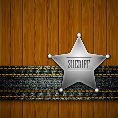 western background: Sheriff