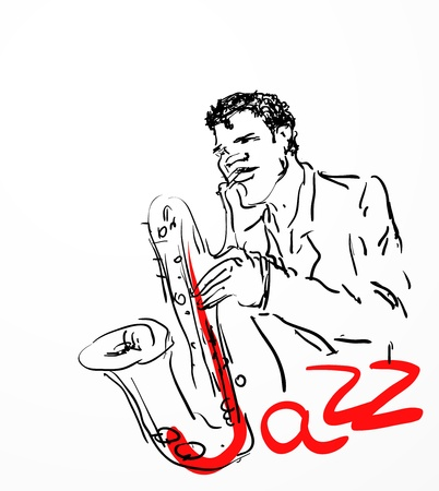 jazz musician: the saxophone player  eps8