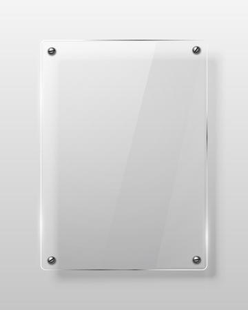 Glass framework  Vector illustration  Eps10