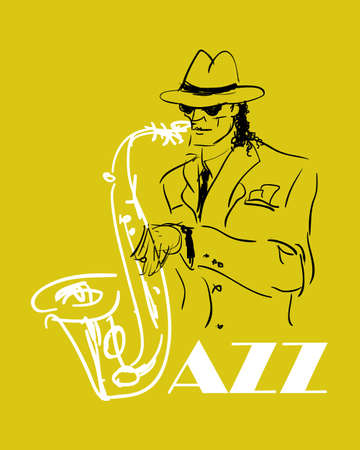 musically: the saxophone player  eps8
