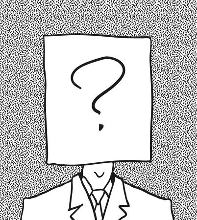 sconosciuto: nessun utente foto profilo disegnato a mano
