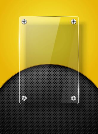 Vector background with glass framework eps10 Vector