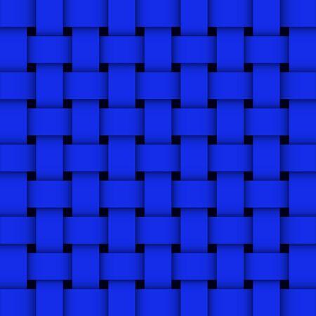 Wicker  vector background  eps8 Stock Vector - 15502803