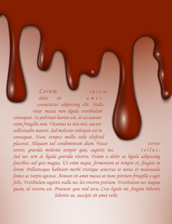 drippings: Abstract background  Horror