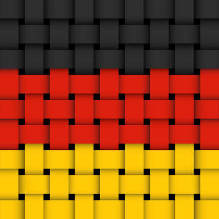 German flag  Stock Vector - 17444155