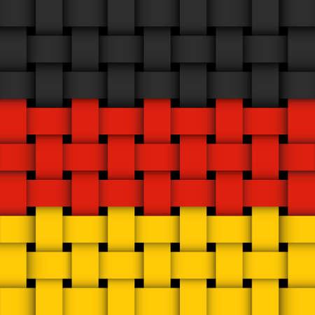 German flag Stock Vector - 17444155