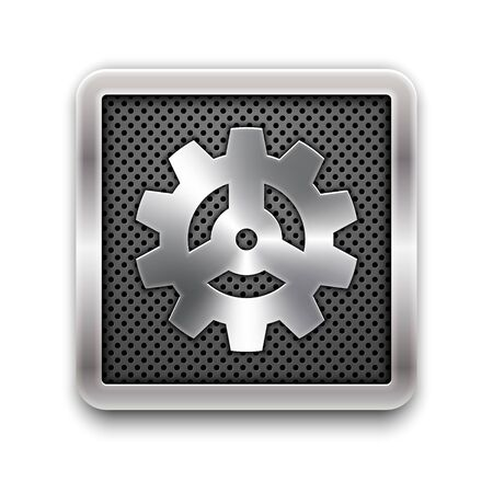 Gear icon   Stock Vector - 18702825