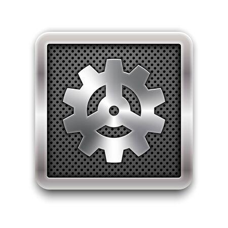 Gear icon Stock Vector - 18702825