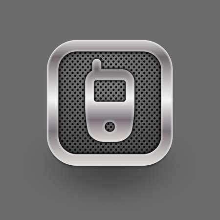 Phone icon  Vector eps10 Stock Vector - 18702823