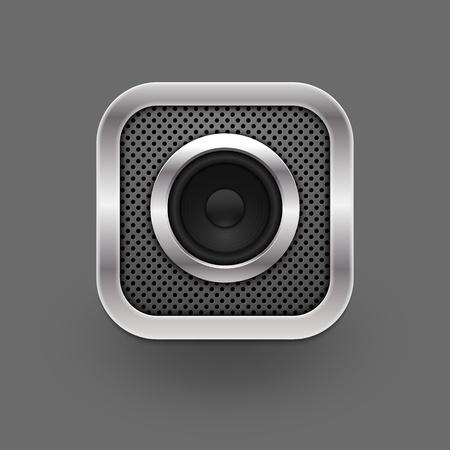 Speaker icon  Vector eps10 Vector