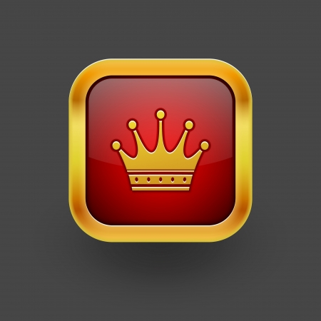 Crown icon  Vector eps 10 Vector