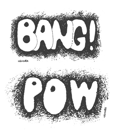Bang  Hand drawn  Stock Vector - 23261378