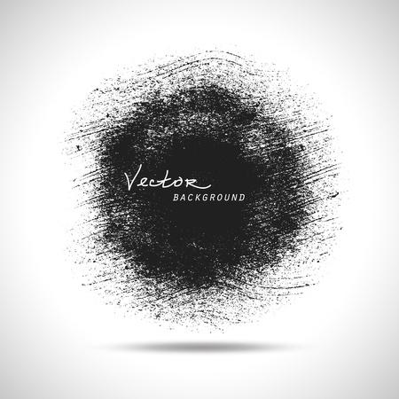 dry brush: Vector grunge background. hand drawn.