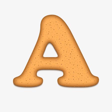 food clipart: cookies font vector