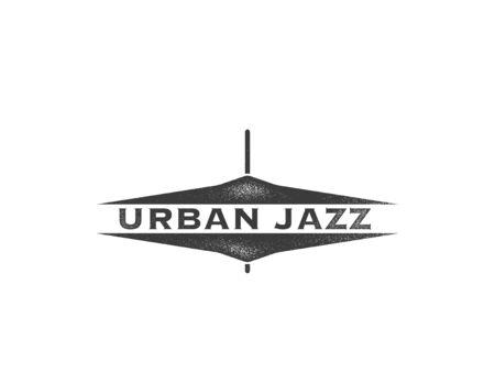 urban background: Urban jazz Art concept background.