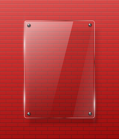 Framework: Glass framework illustration.