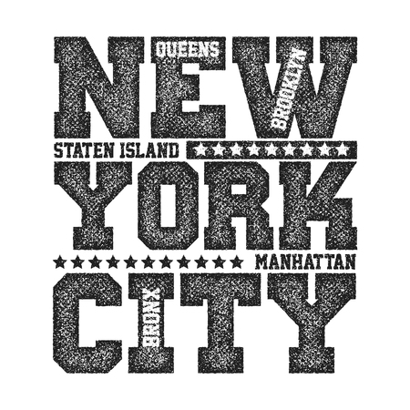 New York City Typography Graphics Illustration