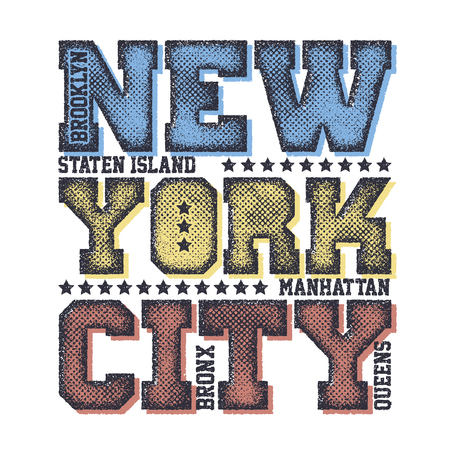 dirty clothes: New York City Typography Graphics Illustration