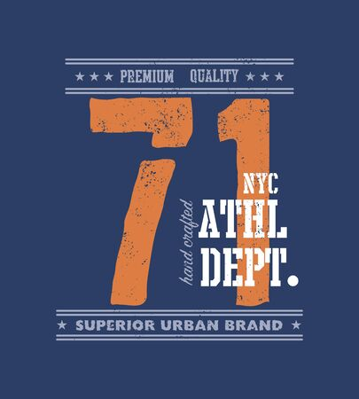 champ: vintage urban typography, t-shirt graphics, vector illustration