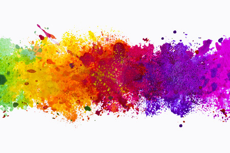 color image: Abstract artistic watercolor splash background