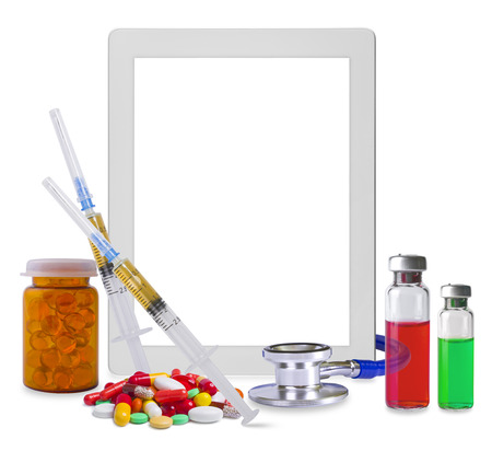 medical supplies: Composition of tablet pc and medical supplies