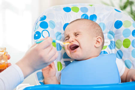 disobedient child: Feeding problems, little disobedient baby