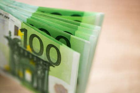 euro banknotes: Euro banknotes background