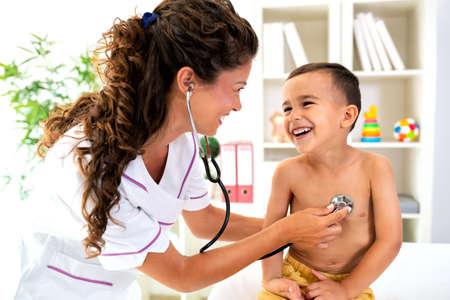 I can hear you heartbeat little man and it beats excellent Reklamní fotografie