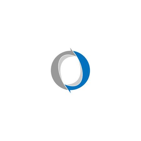Letter O Arrow Logo Design Template Logo