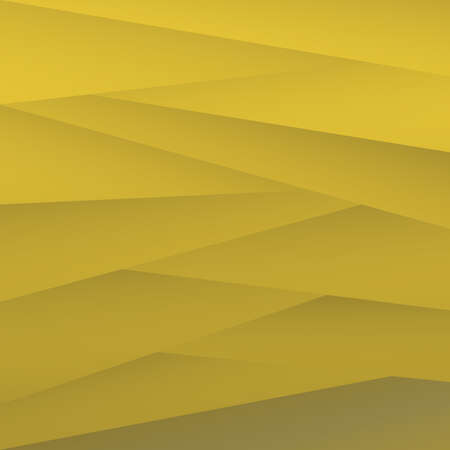 Yellow Polygonal Background Vector Illustration