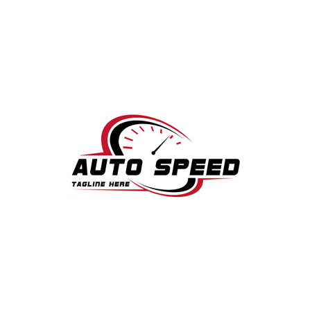 Auto Speed and Automotive Logo Design Template