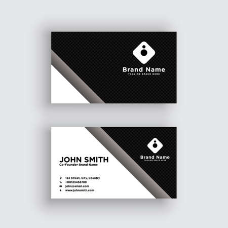 Modern and Luxury Business Card Design Template