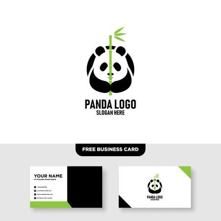 Creative Panda Logo Design and Business Card Template