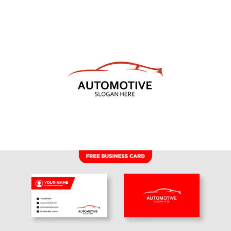 Auto Speed and Automotive Logo and Business Card Template