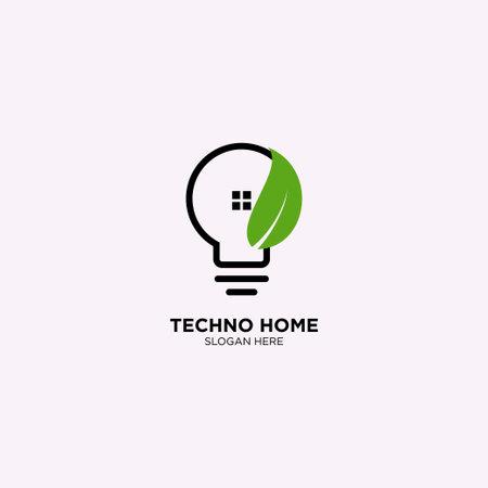 Smart Home Logo Design Template