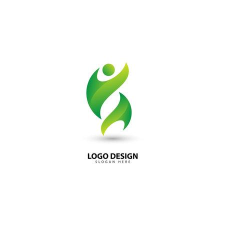 People Communication, Community and Teamwork Logo Design