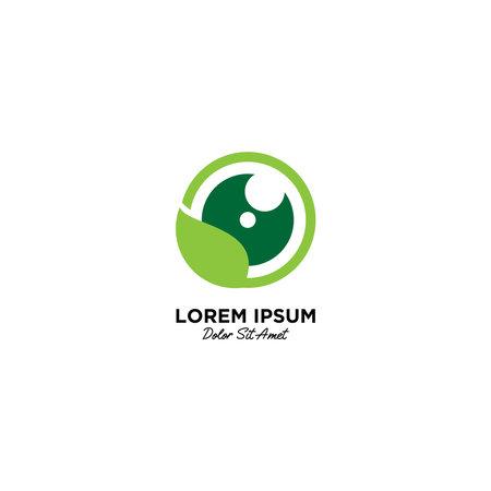 Nature Photography logo vector icon illustration