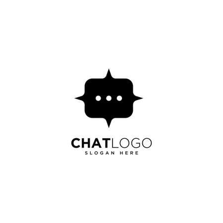Chat Logo Template Design, Talk Logo, designed for chat applications 矢量图像