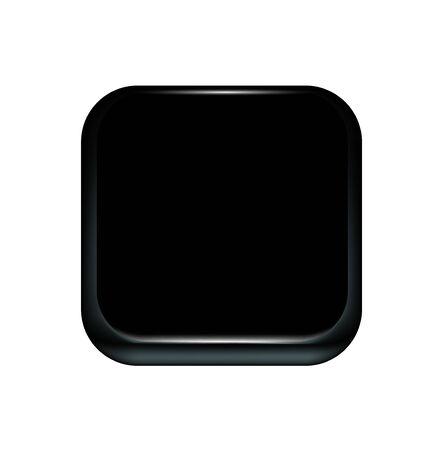black technology icon isolated on white background Illustration