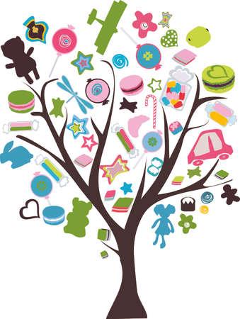 wonder tree Illustration