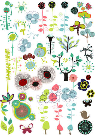 design floral pattern Vector