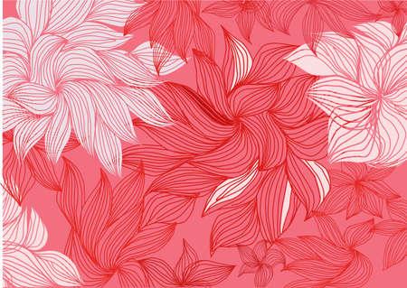 flourishing: flower background Illustration