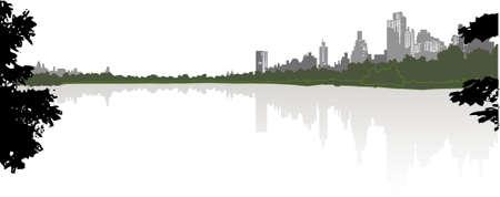 skyline cityscape Stock Vector - 5465828
