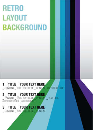 vector - background layout with copyspace for your text