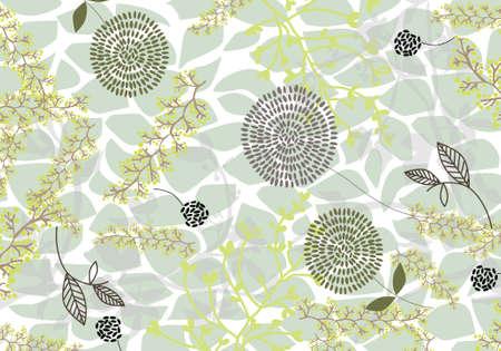 vector - pastel nature wallpaper Illustration