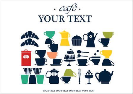 restaurant cafe card presentation