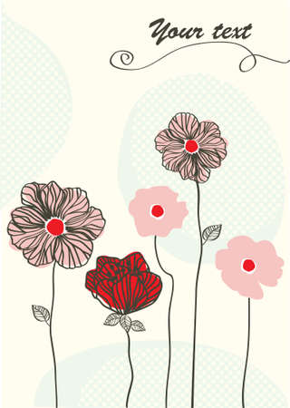 floral card for anykind of celebration