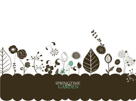 plantation: springtime in the garden